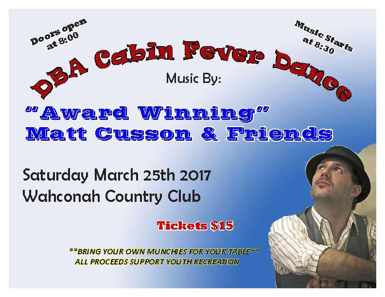 DBA Matt Cusson Flyer