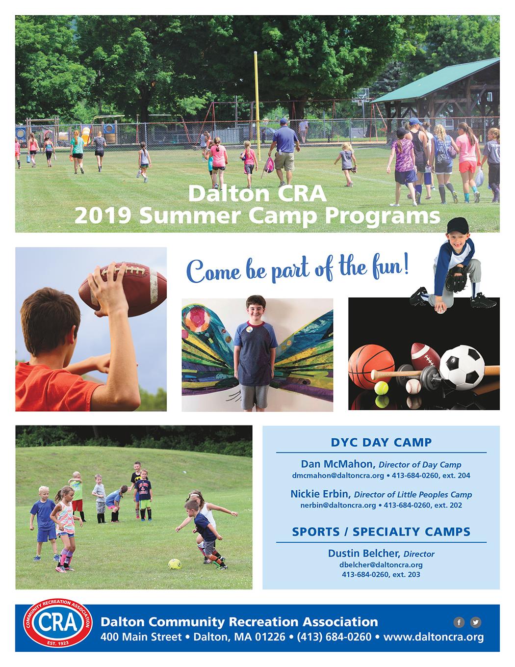 Youth Camps - Dalton CRA